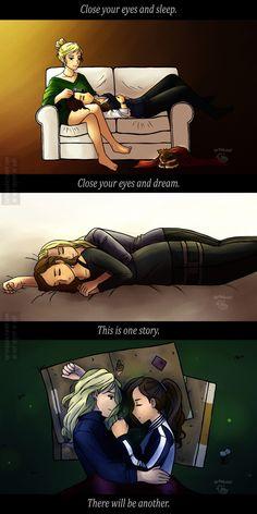 Lexa and Clarke love.
