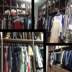 Um belo closet e organizado ficou mais que perfeito, ficou funcional