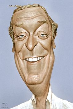 Michael Caine (Caricature) Dunway Enterprises - http://www.learn-to-draw.org/caricatures_clb.html?hop=dunway