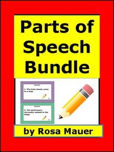 Save time and money when you buy this Parts of Speech Task Card BundleSave more than 20% when you buy the bundle compared with buying all products individually.Click each link to find out more or to buy the product individually.Topics in this bundle: Best-Selling Adjectives Task Cards for Centers or Scoot .