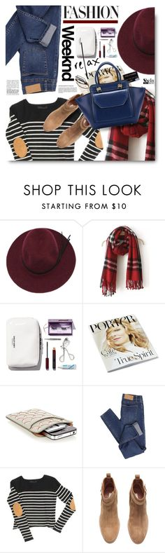 """Weekend relax with Shein.com"" by hamaly ❤ liked on Polyvore featuring Alaïa, Cheap Monday, H&M, OTR, outfit, ootd, Sheinside, fallstyle and DenimStyle"