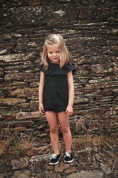 Our Julianna Romper is perfect for pairing with sandals and a floppy hat and exploring on all of those summer adventures! Available in sizes 12M - 5T. Item Type: Rompers Collar: O-Neck Closure Type: Pullover Material Composition: cotton blend Sleeve Length: Sleeveless Fit: Fits true to size, take your normal size