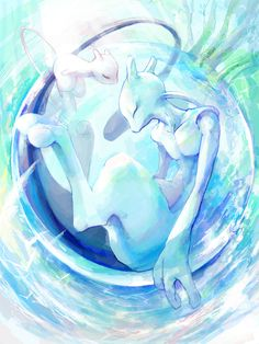 Pokemon will always hold a special place in my heart. From then mew mewtwo All Pokemon, Pokemon Fan Art, Cute Pokemon, Mew And Mewtwo, Pokemon Mewtwo, Pikachu, Kino Film, Nintendo, Pokemon Pictures