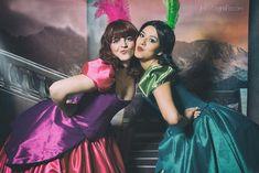 Anastasia and Drizella Tremaine by kokoammm on DeviantArt Drizella Tremaine, Anastasia And Drizella, Cinderella Cosplay, Girl Photos, Tulle, Deviantart, People, Fandom, Disney