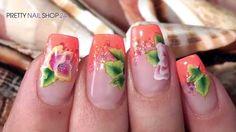 #colors   #glitter   #illusion   #nails   #onestroke   Wenn die Farben mit dem Glitter um die Wette strahlen, dann ist das Sommerdesign perfekt! Wie leicht Du Deinen Nägeln mit dem neuen Illusion Glitter VII einen schillernden Kick verleihst, zeigen wir Dir in diesem Video.  Hier findest Du alle verwendeten Produkte: http://www.prettynailshop24.de/shop/nailart-shiny-summer-video_725.html#Produkte?utm_source=pinterest&utm_medium=referrer&utm_campaign=pi_IllusionVII3315