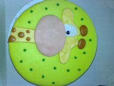 Eerste fondant taart