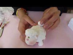 Borrego en porcelana fria/pasta francesa/pasta flexible/cold porcelain - YouTube