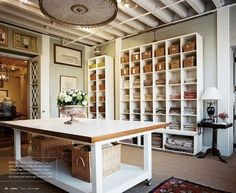 sewing room inspiration | Sewing Craft Room Inspiration / Love!