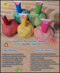 mamae tagarela receita e ingreditens e modo de fazer massinha de modelar caseira da mamae tagarela