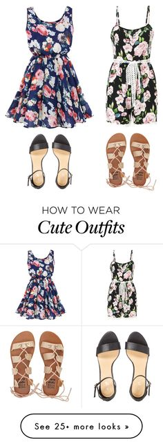 """""""Cute Summer Outfits"""" by lsantana13 on Polyvore featuring Billabong"""