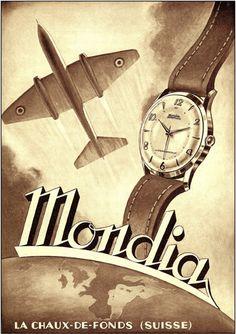 From 1935 MONDIA SWISS