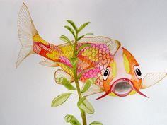 Koi carp. Gorgeous by MW