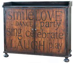 Accentrics Home wine cabinet ~ Pulaski Furniture