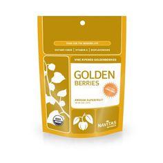 Navitas Naturals Organic Goldenberries, 8-Ounce Pouches (Pack of 2) - http://goodvibeorganics.com/navitas-naturals-organic-goldenberries-8-ounce-pouches-pack-of-2/