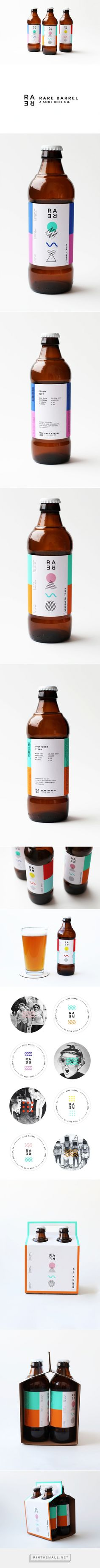 Rare Barrel Sour #Beer Co. #packaging by Mackenzie Freemire - http://www.packagingoftheworld.com/2015/02/rare-barrel-sour-beer-co.html