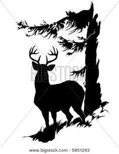Buck Stag Deer