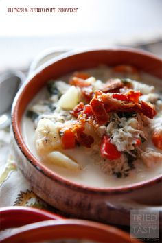 Turkey & Potato Corn Chowder