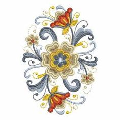 Rosemaling Decor 2 05(Md) machine embroidery designs
