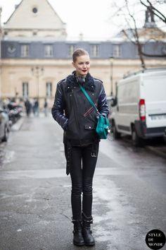 STYLE DU MONDE / Haute Couture SS 2014 Street Style: Lindsey Wixson  // #Fashion, #FashionBlog, #FashionBlogger, #Ootd, #OutfitOfTheDay, #StreetStyle, #Style