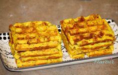 WAFFE DE CARTOFI CU SMANTANA Waffles, Cooking Recipes, Breakfast, Party, Food, Projects, Morning Coffee, Log Projects, Blue Prints