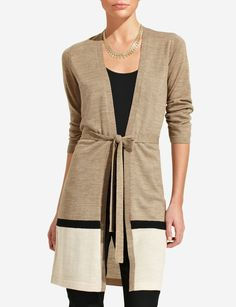 Border Stripe Cardigan   Women's Sweaters   THE LIMITED