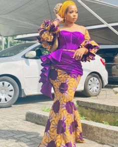 Latest African Fashion Dresses, African Dresses For Women, African Print Dresses, African Print Fashion, African Attire, Ankara Fashion, Africa Fashion, African Prints, African Fabric