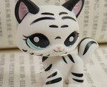 Black/white Tiger Cat Kitty Littlest Pet Shop Lps Mini Action Figures # - $4.99