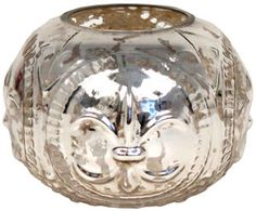 mercury glass vase - small