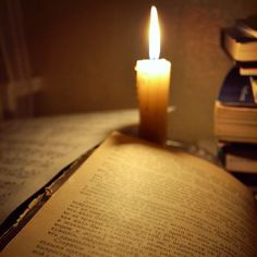 #reading #book #candle