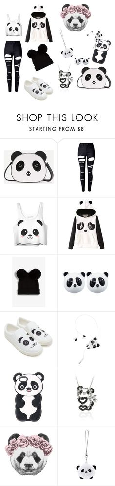 """""""Panda ♡"""" by arclyn ❤ liked on Polyvore featuring WithChic, Monki, Forever 21, DB Designs and TONYMOLY"""
