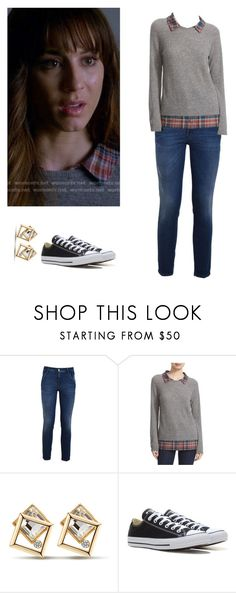 """Spencer Hastings - pll / pretty little liars"" by shadyannon ❤ liked on Polyvore featuring CYCLE, Joie and Converse"