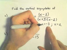 Vertical Asymptotes of Rational Functions: Quick Way to Find Them, Another Example 1 Rational Function, Math Tutorials, Sentence Construction, Second Semester, Math Projects, Math Help, High School Seniors, Maths, Youtube