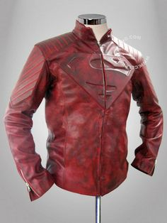 http://www.celebsclothing.com/products/Distress-Smallville-Superman-Leather-Jacket.html  Get Special Discount on Red Superman Smallville Distress Leather Jacket Costume in Discounted Price at Our Online Shop.