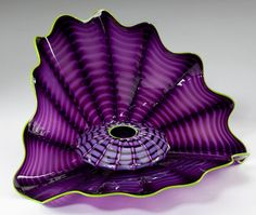 """Dale Chihuly """"Imperial Iris Persian"""" Set"""