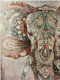 heine home picture Buddha, An eye catcher for your walls OTTO - heine home picture elephant, studded with numerous metal rivets online OTTO - Elephant Wallpaper, Elephant Artwork, Elephant Love, Buddha Elephant, Indian Elephant, Elephant Pictures, Mandala Wallpaper, Mandala Artwork, Arte Pallet