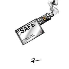 ✅ IT'S SAFE UNTIL IT'S NOT ⛔️😙💨 ———————— E-Smoke - February 2018 Hacker Wallpaper, Supreme Wallpaper, Cellphone Wallpaper, Iphone Wallpaper, Rick And Morty Poster, Trill Art, Vape Art, Dope Cartoons, Stoner Art