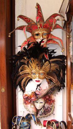 Venician masks © by Rethink Interiors Ltd