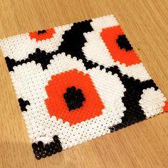 Marimekko design perler beads by  manasuny2mom