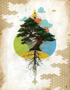 Blaine Fontana I dream of patience Abstract Tree Painting, Artist Painting, Painting & Drawing, Collage Design, Graphic Design Art, Bokashi, Jr Art, Cool Artwork, Paper Art