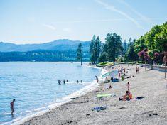 City Park and Beach, Coeur d'Alene. Photo Credit: Idaho Tourism