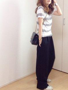 mayumi│Deuxieme ClasseのTシャツ/カットソーコーディネート
