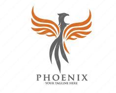 phoenix media Logo Design