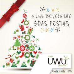 A equipa UWU Solutions deseja a todos um Feliz Natal e um Ano Novo com muita saúde e prosperidade.
