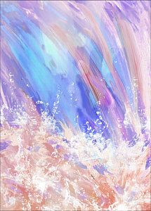Prophetic Art Digital Art - Heaven's River by Denise Warsalla