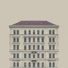 Zsolt Hlinka's Urban Symmetry series