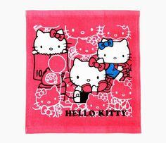 Hello Kitty wash towel: super kawaii!