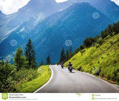 motorbike mountains europe - Hledat Googlem
