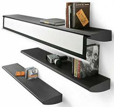 Fly Shelf with a Projection Screen Integrated