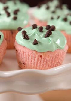 Watermelon KOOL-AID Cupcakes – Sure, these fruity-inspired cupcakes are as cute as can be and fun to look at on the dessert table. But trust us: They're even better to eat!