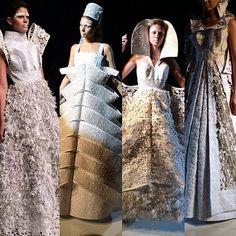 Paper dress couture carlamenpri's photo on Instagram